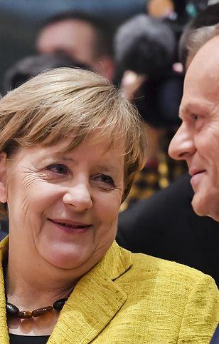 Angela Merkel i Donald Tusk
