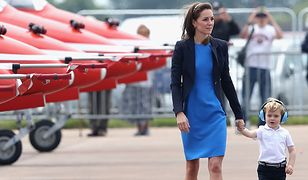 LOOK OF THE DAY: Kate Middleton w sukience Stella McCartney