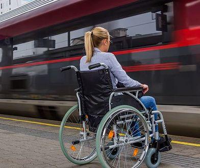 Pani Diana, która porusza się na wózku, o podróży PKP: Poniżono mnie, płakałam