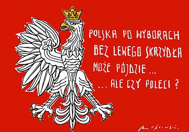 Polska bez lewego skrzydła już nie poleci?