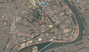 Irak. Trzy rakiety wystrzelone w Zieloną Strefę. Dwie z nich spadły w pobliżu ambasady USA