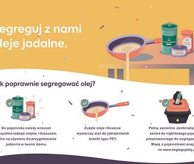 Bielsko-Biała. Nie wiesz co zrobić ze zużytym olejem jadalnym? Teraz można go oddać w PSZOK