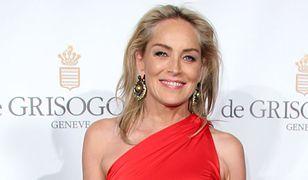 Zjawiskowa Sharon Stone. Aktorka pozuje w efektownej stylizacji