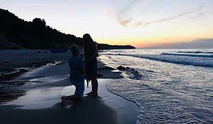 Kasia Sekuła uchwyciła moment zaręczyn na plaży we Władysławowie. Teraz chciałaby odnaleźć parę ze zdjęcia