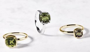 Biżuteria z mołdawitem, kamieniem z innej galaktyki