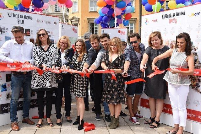 Uroczysta inauguracja Kultury Na Widoku z udziałem artystów