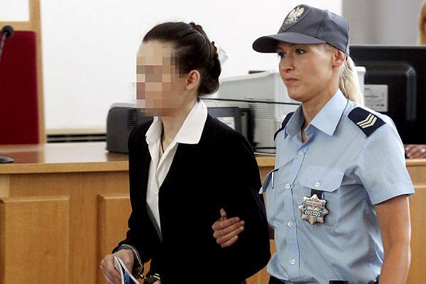 Katarzyna W. przed ogłoszeniem wyroku - zdjęcie archiwalne