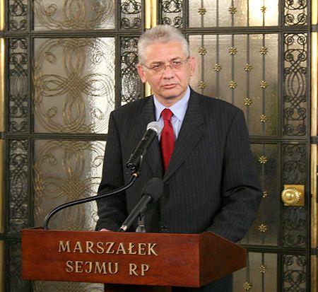 Ludwik Dorn nowym marszałkiem Sejmu
