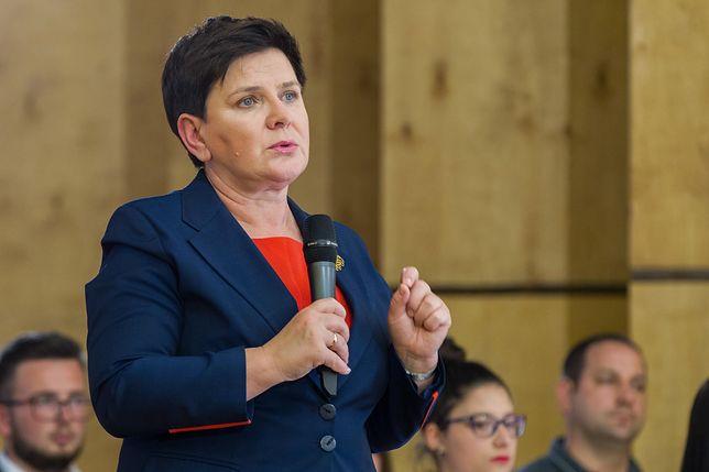 Premier nie odwiedziła protestujących w Sejmie