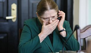 Krystyna Pawłowicz komentuje fryzurę ambasador Stanów Zjednoczonych Georgette Mosbacher