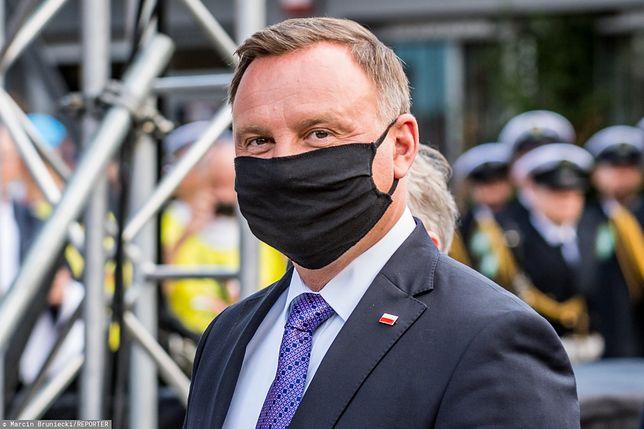 Prezydent  Andrzej  Duda był na kwarantannie od 24 października