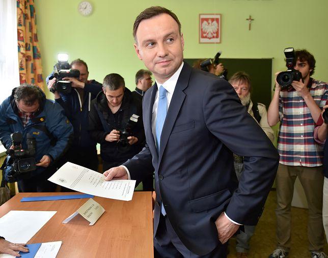 Najnowszy sondaż prezydencki Duda-Tusk. Zwycięzca mocno zyskuje