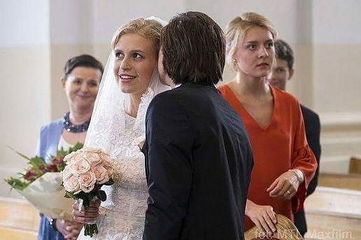 """Ślub Natalii i Franka w """"M jak miłość""""."""