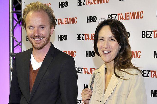 Jacek Borcuch i Ilona Ostrowska żyją w zgodzie po rozwodzie.