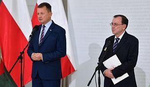 Grupa Granica: Konferencja Błaszczaka i Kamińskiego miała na celu zohydzenie uchodźców