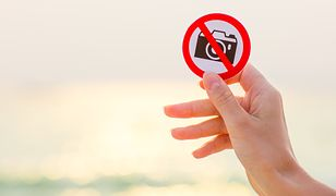 Minie wiele czasu, nim turyści przyzwyczają się do zakazu fotografowania
