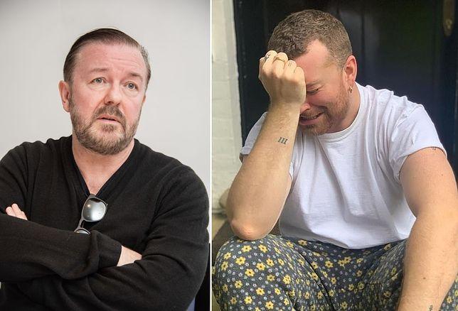 """Ricky Gervais znowu dowalił gwiazdom. """"Siedzą w posiadłości z basenem i narzekają"""""""