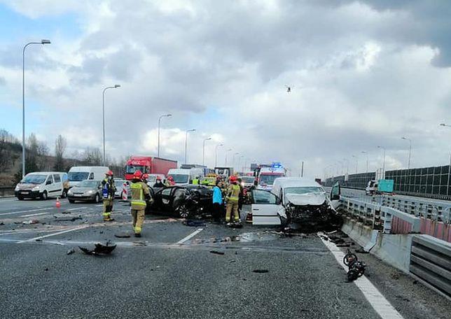 Śląskie. We wtorek na autostradzie A4 w rejonie węzła Sośnica doszło do dwóch zderzeń.