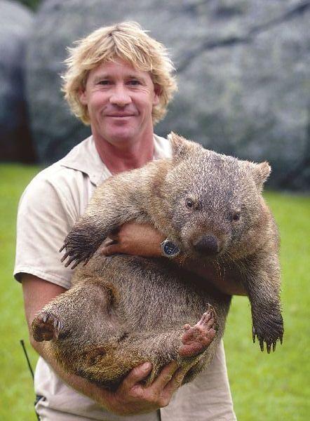 Steve Irwin spędzał każdą wolną chwilę z ukochanymi zwierzętami
