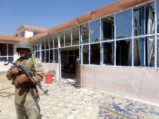 Prawdopodobnie sprawcami zamachu są talibscy rebelianci