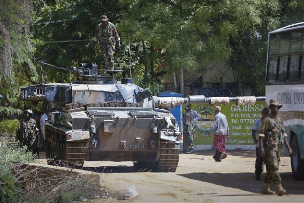 Atak na kampus uniwersytetu w Garissie w Kenii - 70 zabitych, 79 rannych
