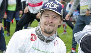 Bartosz Obuchowicz wystartował w ważnym biegu. Aktor angażuje się w akcje charytatywne