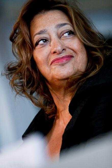 Zaha Hadid, znana na świcie i wielokrotnie nagradzana brytyjska architekt