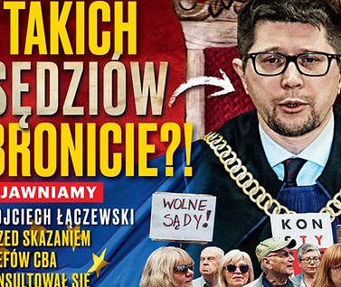 """Łączewski odpowiada na zarzuty """"Sieci"""": Proces Kamińskiego nie został ustawiony. To wirtualna rzeczywistość"""
