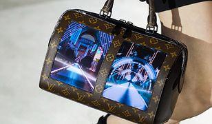 Torebka Louis Vuitton z elastycznymi ekranami AMOLED