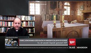 Ks. dr Leszek Gęsiak o obostrzeniach w kościołach. Wyjaśnił, jak będzie wyglądać przyjmowanie komunii