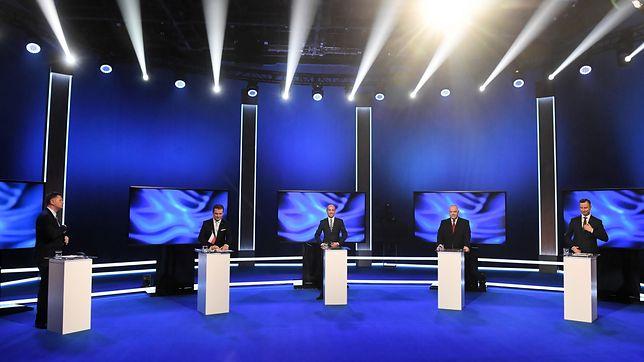 Wybory parlamentarne 2019. Debata wyborcza w TVP.