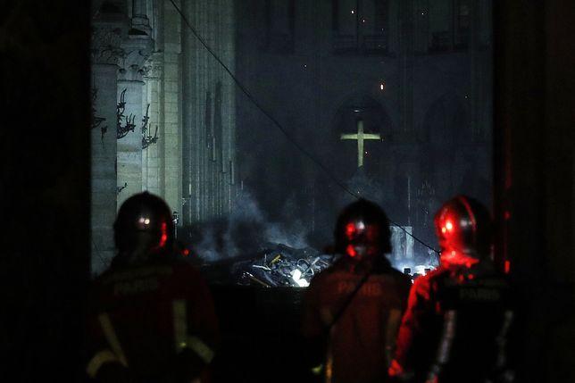 Notre Dame. Ogromna skala zniszczeń