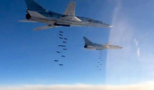 Rosyjski Tu-22M3 w akcji