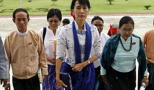 Legenda birmańskiej opozycja Aung San Suu Kyi