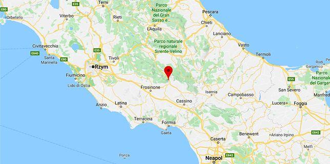 Włochy. Silne trzęsienie ziemi niedaleko Rzymu