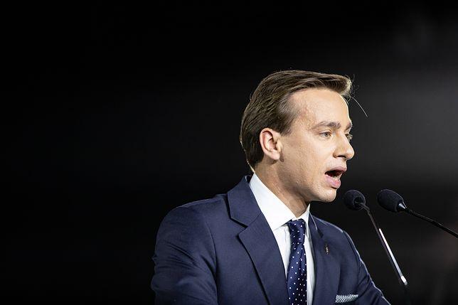 Krzysztof Bosak został wyśmiany przez partię Razem