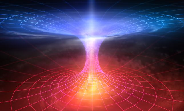 To nie czarne dziury będą kluczem do poszukiwań tuneli czasoprzestrzennych