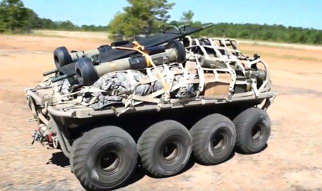 8-kołowy pojazd MUTT ma zasięg ok 100 km.