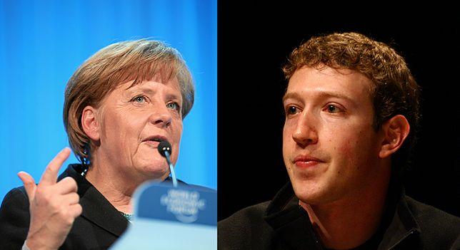 Mowa nienawiści i uchodźcy: Merkel naciska na Zuckerberga, chce cenzury na Facebooku