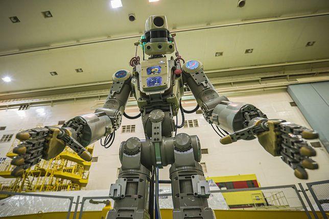 Rosyjski robot będzie wsparciem dla astronautów