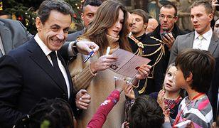Pierwsza Dama Francji wystąpiła publicznie