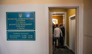 Opole. Zerwał z konsulatu tablicę z herbem Ukrainy. 29-latek skazany