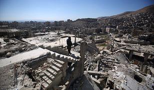Syria. Kilkanaście zabitych osób w bombardowaniu. Większość to dzieci