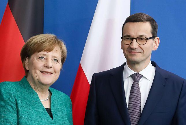 Angela Merkel odwiedzi Polskę. Ma spotkać się z Morawieckim i Dudą