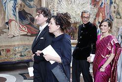 Olga Tokarczuk pokazała męża. Na królewski bal ubrał ich Tomasz Ossoliński