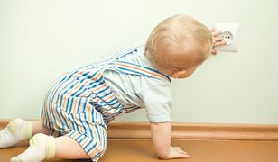 Osprzęt elektryczny bezpieczny dla dzieci