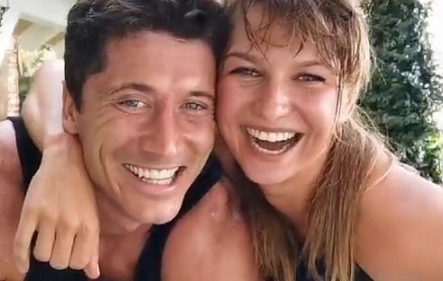 Anna i Robert Lewandowscy podjęli się wspólnego treningu