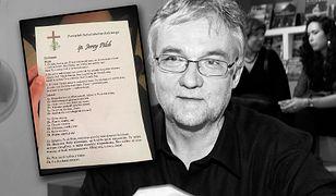 Pogrzeb Jerzego Pilcha. Artyści żegnają pisarza