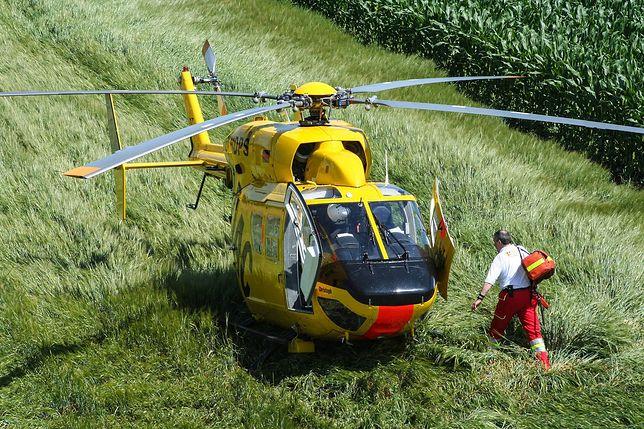 Cieminko. Wypadek podczas prac rolniczych. Nie żyje ojciec i 4-letni syn (zdjęcie ilustracyjne)