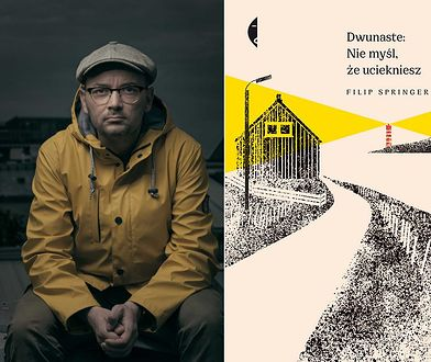 """Filip Springer, """"Dwunaste: Nie myśl, że uciekniesz"""" (wyd. Czarne, 2019)"""